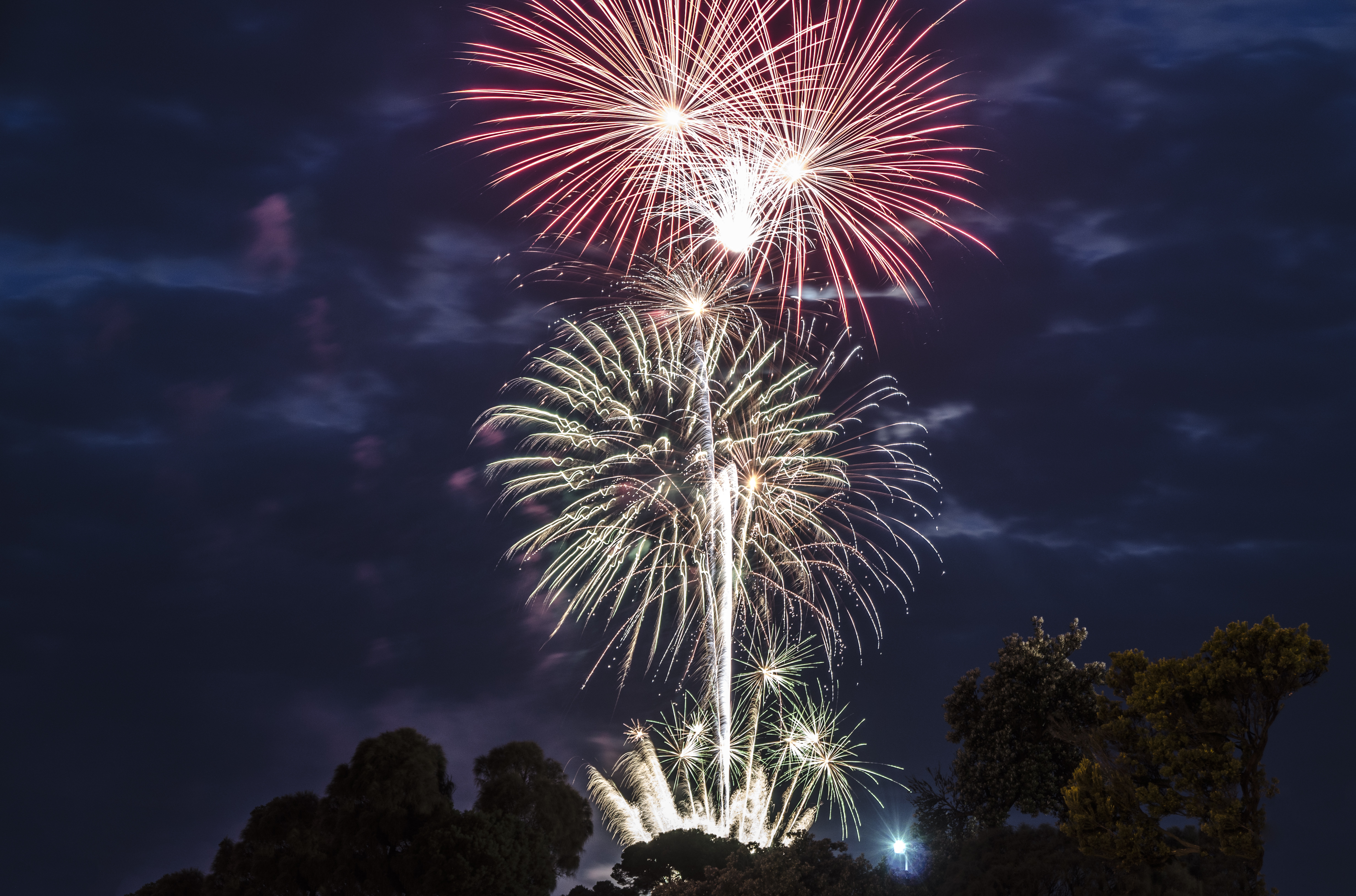 Fireworks 2 Rye Foreshore by djzontheball