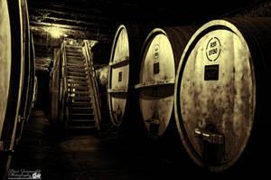 Inside The Wine cellar (Tahbilk Winery) by djzontheball
