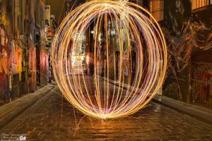 Hosier Lane Light Orb