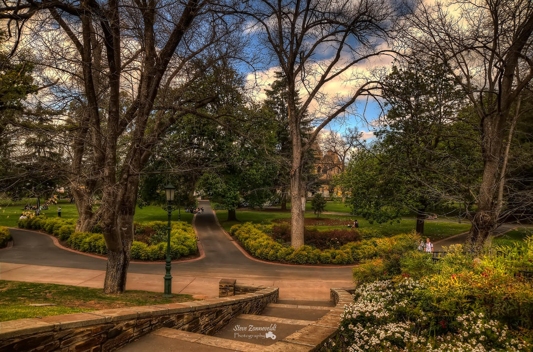 Rosalind Park (Bendigo) by djzontheball