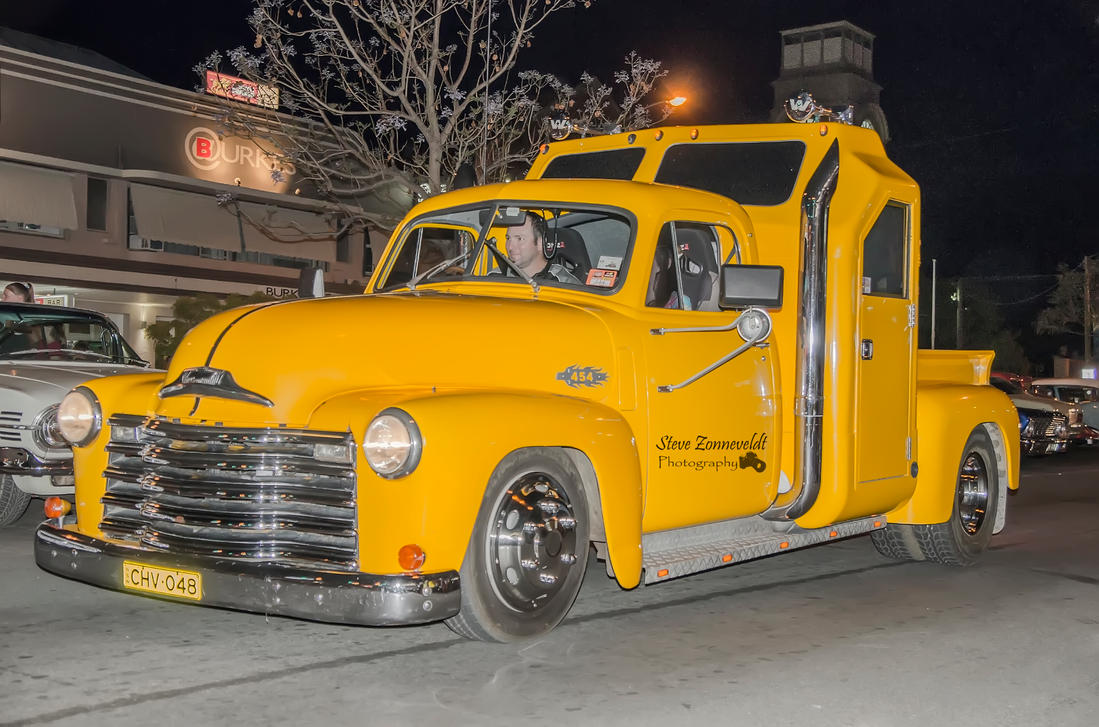 Yellow Truck 48 chev by djzontheball