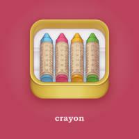 crayon / iOS icon