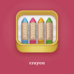 crayon / iOS icon by hrys