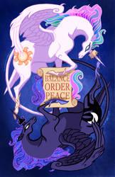 Heraldic Princesses by calonarang