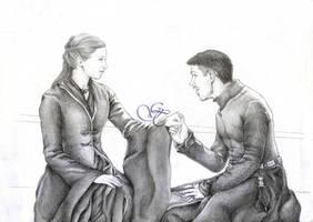 Sansa Stark and Petyr Baelish by Giu-sama