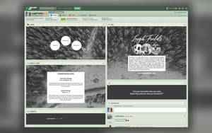LeighFields Page Design