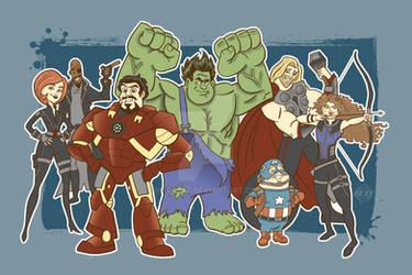 Disney Avengers UPDATED