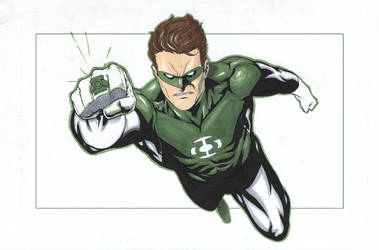 Green Lantern- Jordan by sketchpimp