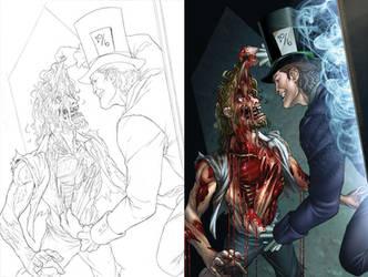 MAD HATTER PG 14 by sketchpimp