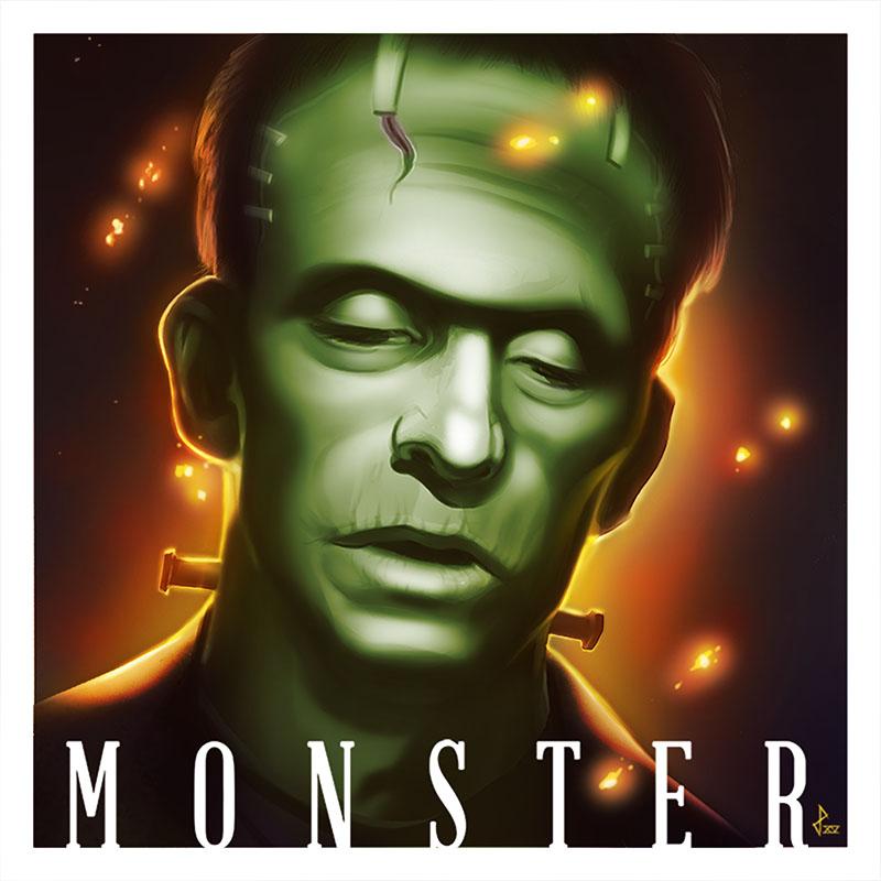 Frankensteins Monster by sketchpimp