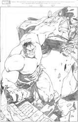 Incredible Hulk by sketchpimp
