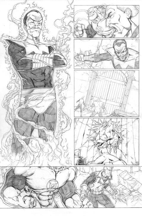 Green Lantern Sample page 4 by sketchpimp