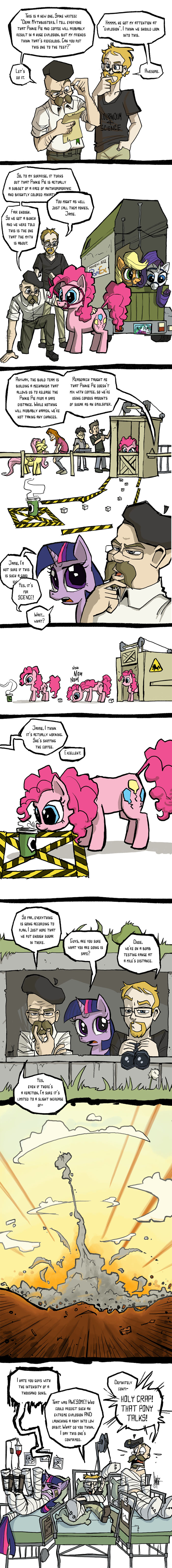 Today on Mythbusters: ponies by TheArtrix
