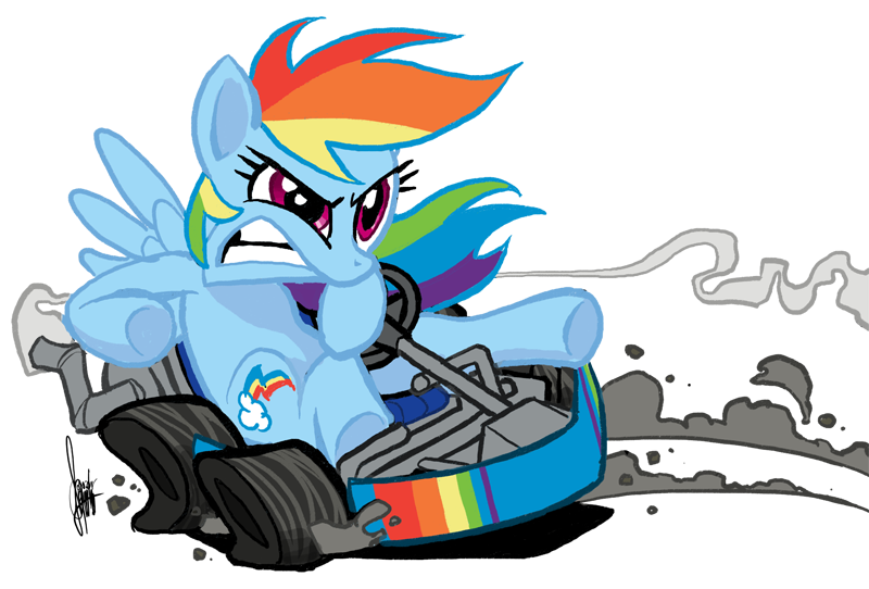 Gotta go faster by TheArtrix