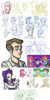 Documentary - sketchdump 1 by TheArtrix
