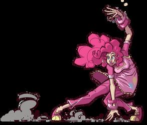 Slidin' Pinkie by TheArtrix