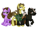Livestream Ponies by TheArtrix