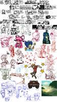 Sketch dump #13 by TheArtrix