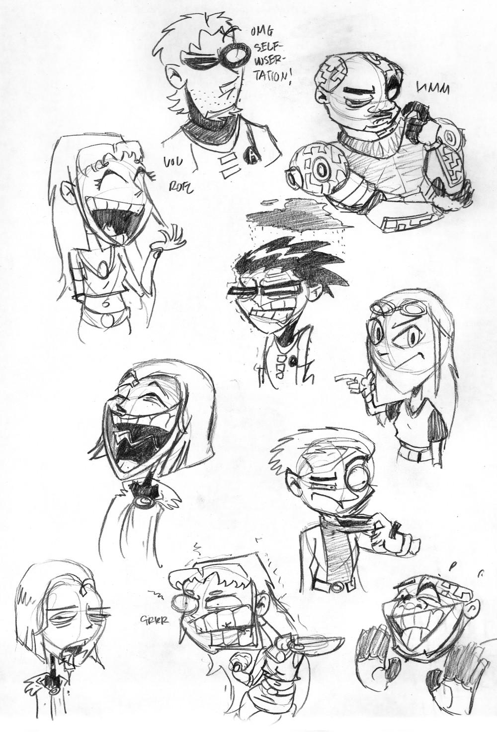 Scrap - Teen Titans by *theartrix on deviantART