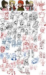 Sketch dump #14 by TheArtrix