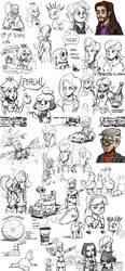 Sketch dump #21 by TheArtrix