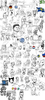 Sketch dump #23 by TheArtrix