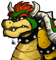 Bowser by TheArtrix