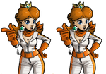 [stereoscopic 3D] Biker Daisy by TheArtrix