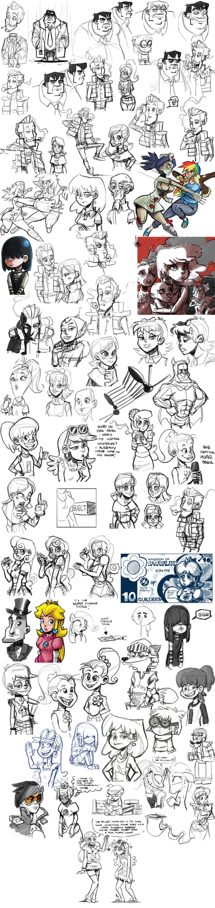 Sketch dump #28 by TheArtrix