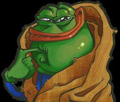 Pepe the dank meme by TheArtrix
