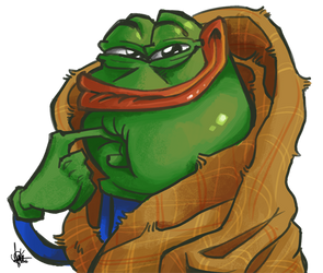 Pepe the dank meme by TheArtrix