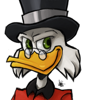Scrooge McDuck by TheArtrix