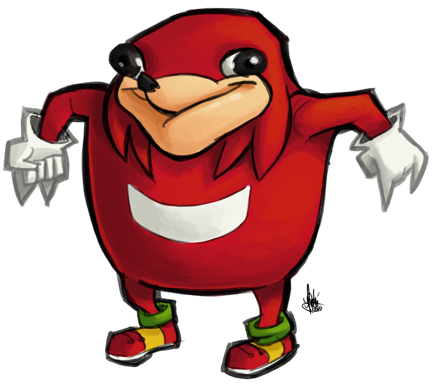 Ugandan Knuckles by TheArtrix