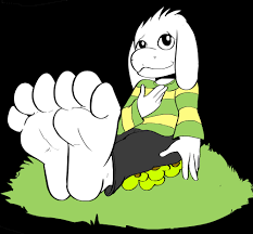 Asriel's Paws by TomatoesDumbass