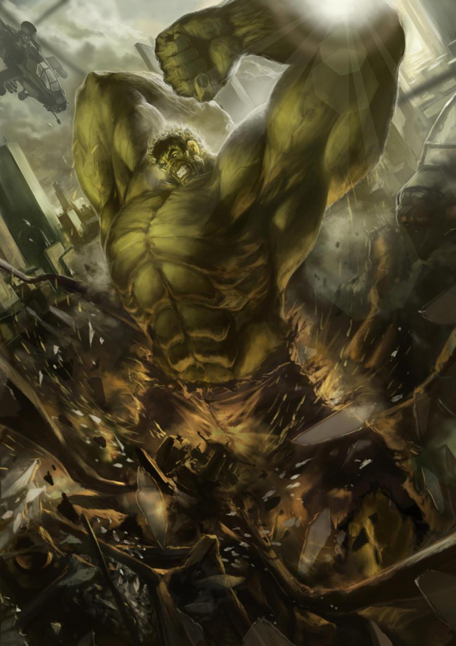 green action by derylbraun
