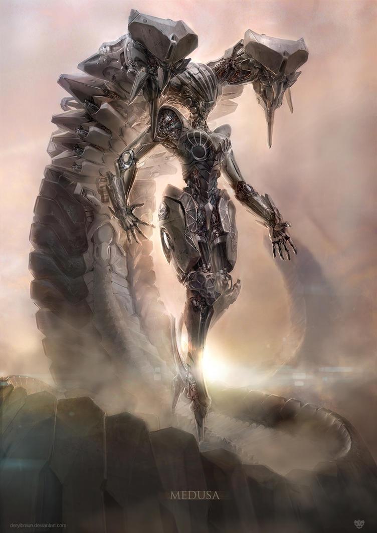Medusa by derylbraun