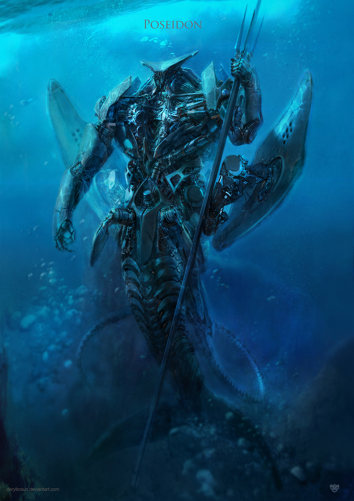 Poseidon by derylbraun