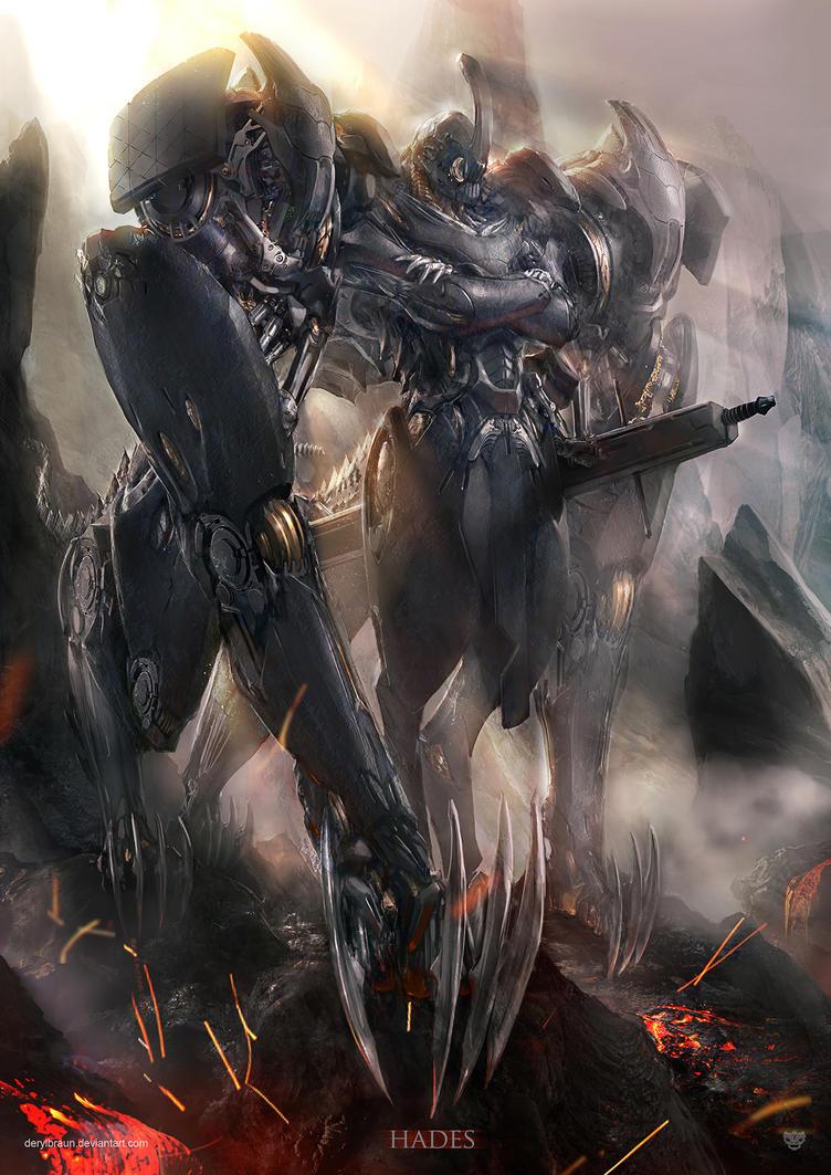 Hades Version 1 by derylbraun