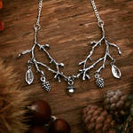 Branch necklace by Curionomicon
