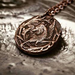 Hippogriff pendant by Curionomicon