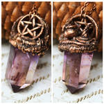 Reversible witch pendant by Curionomicon