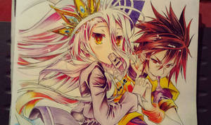 ''Blank''Sora and Shiro
