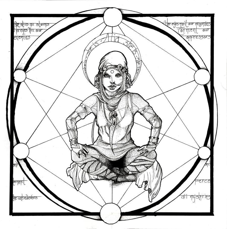 Saint Alia Atreides by RoseCarballeira