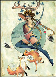 Sagittarius by RoseCarballeira