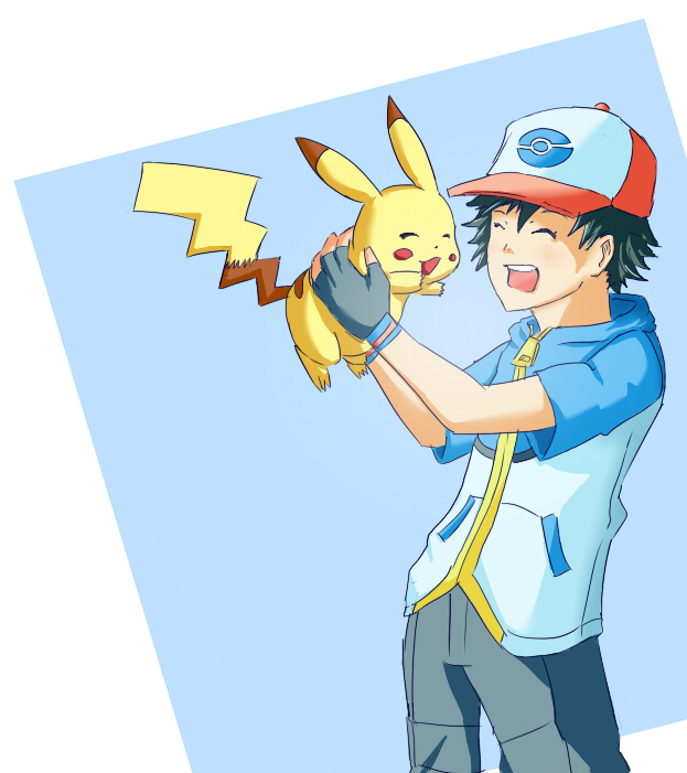 Ash and Pikachu by NewTree