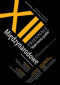 Graphic design triennale