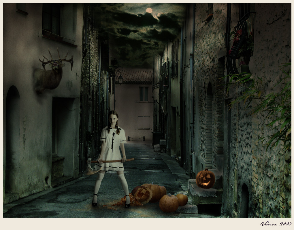 Halloween Pumpkin Killer by Verine