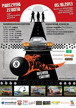 Parszywa Wreck Race 2nd edition poster