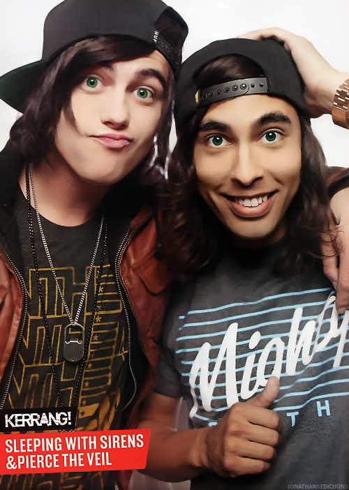 photo retouching vic fuentes and kellin quinn by
