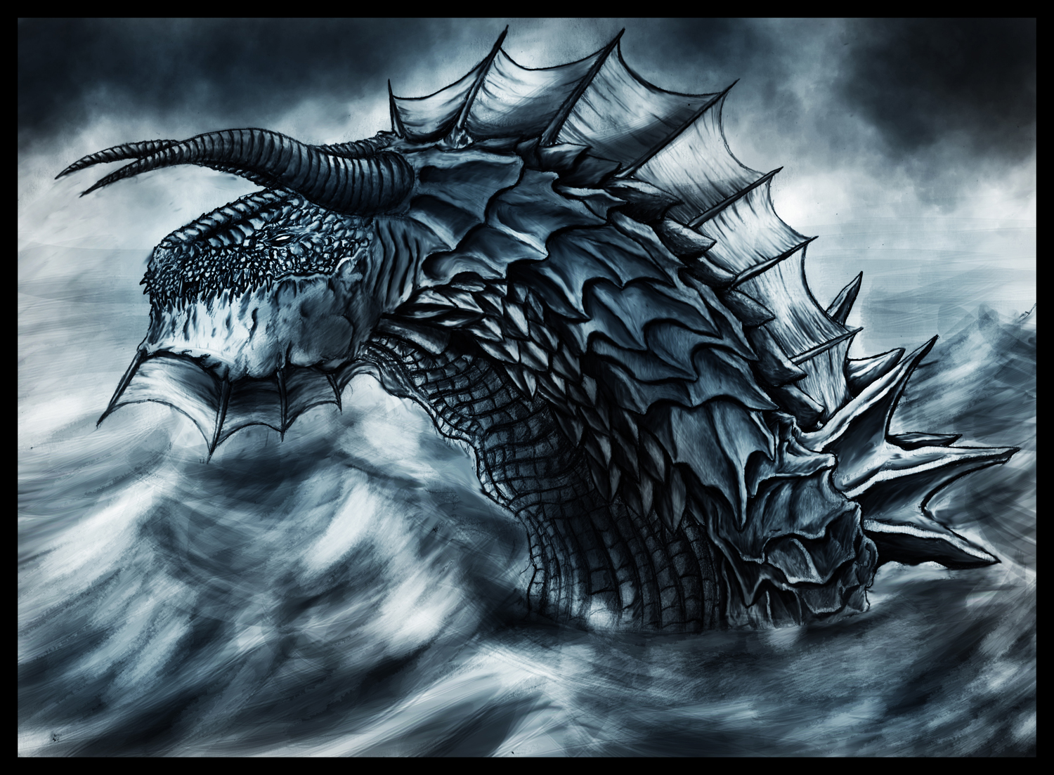 Sea Dragon by StormCross on DeviantArt